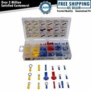 160 Piece Electrical Terminal Assortment Pack W/ Storage Case New