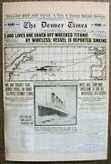 12 Postcards Wdisplayable Newspaper Pages Titanic Wild West Lincoln Jesse James