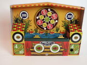 Wyandotte Toys Shooting Gallery Tin Includes Key As Found Nice Graphics 1950-60s