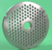 Size 42 X 1/4 Meat Grinder Disc Plate For Cabelas 1 3/4 Hp + Biro Hobart
