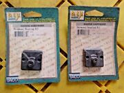 Taco Marine F16-0100-1 Blk Universal Mounting Kit 2 Pack To Attach To A Button