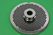 New 56 X 3/16 Holes Stainless Meat Grinder Disc Plate For Biro 1056 1556 Ss