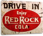 Red Rock Cola Drive In Sign