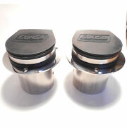 Corsa 11050 Marine Pair 4 In. Exhaust Tip With External Flapper