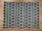 9and039x12and0392 On Clerance Wool And Silk Transitional Modern Hand Knotted Rug R42118