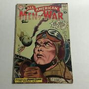 All American Men Of War 82 Dc 1960 Key First 1st Johnny Cloud Appearance Fine+