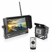 Pyle Plcmtr78wir 2.4ghz Camera And Monitor System For Bus Truck Trailer Van