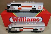 """Williams Train Double A Diesel Locomotive Engine And Dummy """"new Haven"""" O Scale New"""