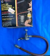 Vintage Interdynamics Auto Air Conditioner Refrigerant Safety Hose, Clamp And Box