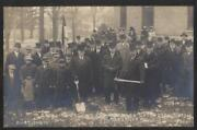 Rp Postcard Coudersport Penn/pa Ground Breaking New A.a.s.r. Cathedral 1913