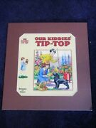 Attributed To Barbara Spurr 1930's Childrens Book Painting Our Kiddies' Tip Top