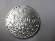 1986 Hungary Large Silver 500 Forint-300 Years Buda From Turkey