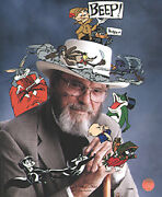 Chuck Jones Signed In Character 1997 Warner Brothers Limited Edition Of 485