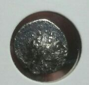 Cleopatra Thea And Antiochos Vii 138-129 Bc. Silver Drachm.3.0 Gr. Dark Toning