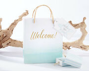 96 Personalized Beach Tides Wedding Welcome Favor Bags