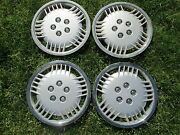 Chrysler Plymouth Dodge Spirit 14 Inch Factory Mag Style Hubcaps Wheel Covers