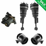 5 Piece Air Suspension Kit Front Shock Assemblies W/ Rear Springs For Ford New