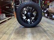 20x9 D560 Fuel Vapor +20 Wheels 33 Fuel At Tires Package 5x150 Toyota Tundra