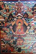 Life Of Buddha Fine Art Painting Done By Nepalese Monk