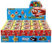 Super Mario Soft-squeeze Keychain Series 2 Mystery Box [15 Packs]