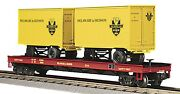 O Scale Mth Delaware And Hudson Flat Car 20-98108 -- New