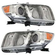 Headlight Set For 2011 2012 2013 2014 2015 Scion Xb Left And Right 2pc