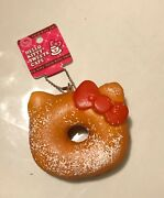 Hello Kitty Sweets Cafe Coconut Donut Squishy W/ Tag