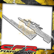 Flamed Chrome Billet Aluminum Wire Loom Set - For Chevy Ford