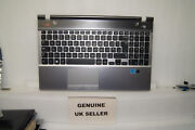 Ex-con Samsung Np550p5c 550p5c Palmrest Touchpad Uk Keyboard Upper Top Cover Sg
