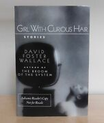 Girl With Curious Hair Advance Reader's Copy David Foster Wallace 1989 2nd Book