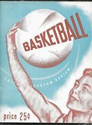 Nov 2 1946 Baa/nba 1st Year Program Chi Stags 1st Ever Game Knicks 2nd Ever Game