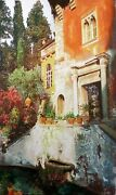 Starlie Sokol Hohne Garden Fountain Hand Signed And Embellished Art Make Offe