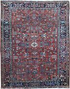 Authentic Wool Rnr-9019 7and039 8 X 10and039 0 Persian Heriz Rug
