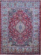 Authentic Wool Rnr-9131 9and039 8 X 13and039 0 Persian Lavar Rug