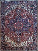 Authentic Wool Rnr-9251 8and039 3 X 11and039 2 Persian Heriz Rug