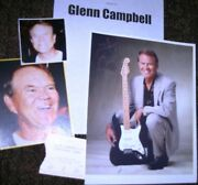 Glenn Campbell Autographed Photo And Photos/- Collectible