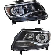 Headlight For 2015-2018 Chevrolet Colorado Pair Driver And Passenger Side