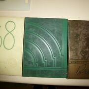 3 Delta State Teachers College Ms Yearbooks - 1938 1939 1941 - The Broom