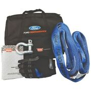 Ford Performance F150 Raptor Off-road Recovery Kit W/ Bag Tow Strap And Gloves
