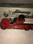 1926 Ertl Seagrave Fire Truck Bank California Department Forestry New In Box
