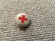 Red Cross Tin Stick Pin - Donor 1920