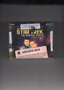 Art And Images Star Trek The Original Series - A Factory Sealed Archive Box