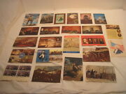 Old Vintage Unused Bicentennial Andspirit Of Liberty Post Cards Stamps