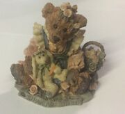 """Boyd's Bears And Friends Bear Figurine 10e/768 Style """"to Have And To Hold"""" 1993"""