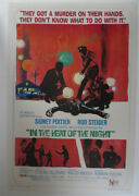 Norman Jewison Signed 12x18 Photo In The Heat Of The Night Poster