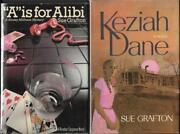 2 Grafton Signed True 1st Editions A Is For Alibi And Keziah Dane W/signed Letter