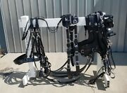 Deluxe Pairs Set Sport Harness Special Model All Sizes With Collar For 2 Horses
