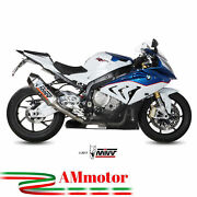 Full Exhaust System Mivv Bmw S 1000 Rr 2016 16 Speed Edge Steel Motorcycle