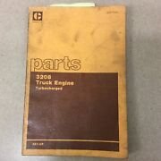 Cat Caterpillar 3208 Parts Manual Book Catalog Engine Diesel Truck List 2z1 And Up