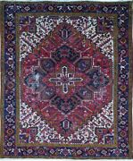 Authentic Wool Rnr-9253 7and039 9 X 10and039 0 Persian Heriz Rug